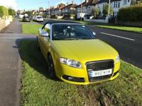 Audi A4 convertible 2009 sline black edition (negotiable)