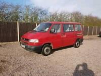 Vw transporter t4 caravelle day van 8 seat minibus long nose 2.5 Volkswagen