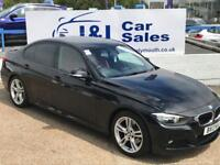BMW 3 SERIES 2.0 320D M SPORT 4d AUTO 181 BHP A GREAT EXAMPLE INSIDE AND OUT (black) 2013