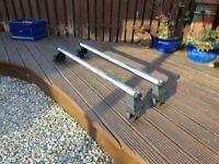 Universal aluminium roof rack 115 cm