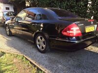 Mercedes E270 CDI diesel 2003, FULL LEATHER BEAUTIFUL EXAMPLE LIKE NEW STUNNER