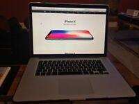 "APPLE MacBook Pro 15"" Retina, 16GB, 256GB HD"