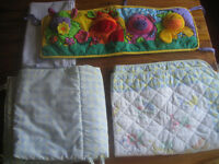 Selection of cot bedding