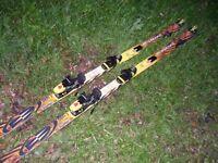 Rossignol dualtec generation DEFI 7 all terrain skis with bindings