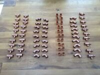 Brand new Yorkshire various 22mm pipe fittings 80 in quantity