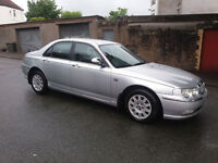 2003(03)ROVER 75 2.0CDTi CONNOISSEUR AUTOMATIC MET SILVER,LOW MILES,NICE SPEC,BMW ENGINE,GREAT VALUE