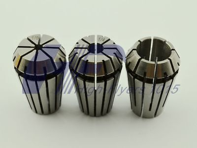 3pcs Er20 Spring Collet Chuck Lathe Milling Cnc Engraving Holder 18 14 12