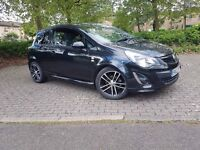 Black Vauxhall Corsa 1.4 Turbo 16v Limited Edition 3dr (a/c)