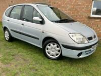 RENAULT SCENIC - 1 YEARS MOT - 1 PREVIOUS OWNER - SERVICE HISTORY