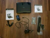 """Logik 10"""" Portable DVD player Mint condition (almost new)"""