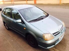 Nissan Almera Tino Tax / Tested Long Mot swap px welcome