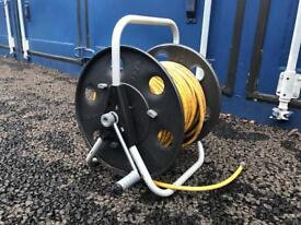 Clabber window cleaning hose reel