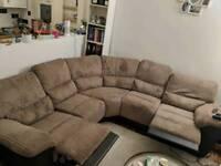 5-Seater Recliner Sofa