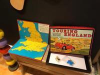 Touring England vintage board game Christmas