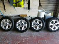 Bmw 16in alloys and tyers brand new