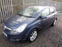 VAUXHALL CORSA 1.2 SXI BLUE 2009 5 DOOR 82,000 MILES MOT 7/10/18 ONE PREVIOUS OWNER