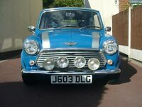1991 Classic mini Neon 1000cc, Blue, MOT till May, 33000 Miles