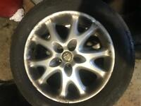 Alfa 147, 156 Alloy Wheels & 205/55/16 very good tyres.