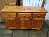 £65 pine sideboard dresser farmhouse shabby chic project