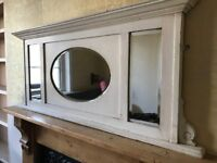 Vintage Over mantle Mirror
