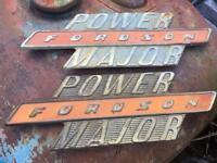 """fordson power major"" badges"