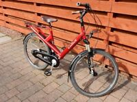 Step Through Riese and Muller Culture Model Red High Quality Bike