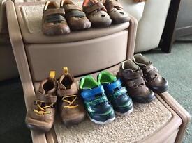 Bundle clarks shoes 4.5 boys