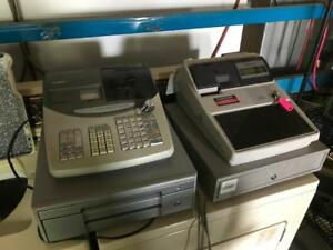 2x Caisse Enregistreuses Casio / Sharp 2x Cash Registers
