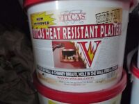 Vitcas heat resisitant plaster and render system 10 kg tubs