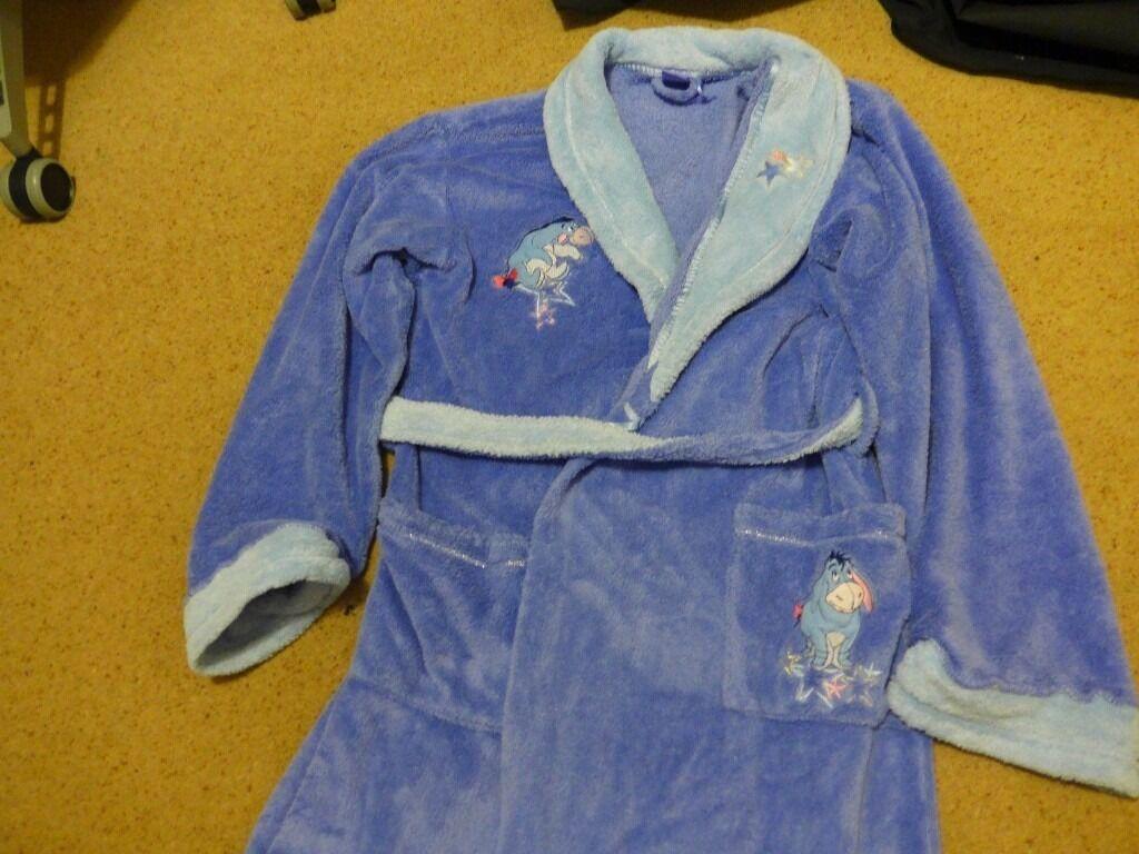 Disney Eeyore Soft Fleece Dressing Gownteenageradult 8 12max37