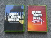 Grand Theft Auto : GTA Vice City - GTA III The XBOX Collection