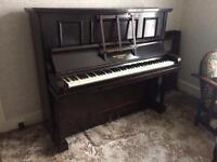 Refurbished Barnes piano - ideal for beginner