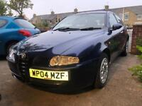 Alfa Romeo 147 T Spark (spares or repair)