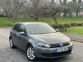 2012 62 Volkswagen Golf 1.6 TDI Match Automatic DSG Full Service History + Not Audi Seat Ford