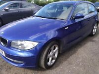 BMW 118d 2.0d 3 DR HATCHBACK GREAT WEE CAR LOVELY COLOUR ALLOY WHHELS CRUISE CONTROL 6 SPEED MANUAL