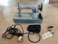 Vintage Jones Electric Sewing Machine