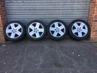 Audi A8 D3 Flat Five Alloys