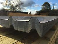 ⚙️Box Profile Roof Sheets * Galvanised * New