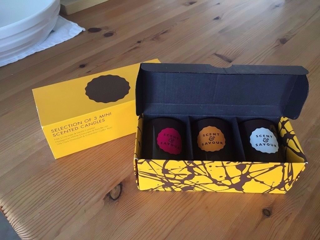 Chocolate Box Mini Candles - Jamie Oliver