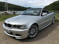 Stunning 55 plate BMW 330cd m sport 6 speed turbo diesel Fsh Full Mot Faultless Low Miles