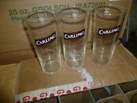 CARLING PINT GLASSES X23 ( NEW )