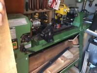 Woodturning lathe