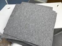 70 Carpet Tiles - Toccarre Grigia