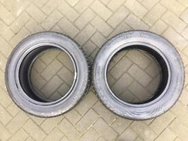 2x NEW Continental PremiumContact 205/55/16 Both 8MM