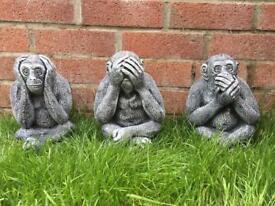 Monkeys garden ornaments