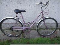 Raleigh Caprice vintage retro city bike 1984, 26 inch wheels, 3 sturmey archer gears, 20 inch frame