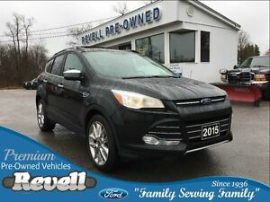 2015 Ford Escape SE 4WD   *FMCC lease return  Only 27K