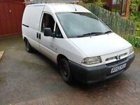 van and a van or self drive small van,