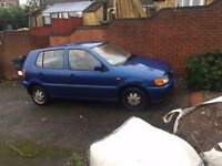 VW polo hatchback, only 77k miles, full service history from new