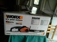 Work chainsaw